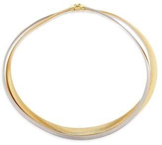 Marco Bicego Masai 18K Yellow & White Gold Two-Strand Necklace