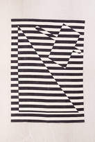 Urban Outfitters Offset Geo Stripe Rug