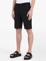 Calvin Klein Platinum Pique Textured Bermuda Shorts