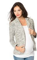 A Pea in the Pod French Terry Maternity Jacket