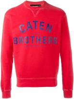 DSQUARED2 Caten Brothers sweatshirt - men - Cotton - L