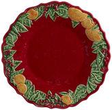 One Kings Lane S/4 Christmas Garland Dessert Plates