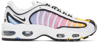 Nike White Air Max Tailwind IV Sneakers