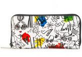 Alice + Olivia Alice+Olivia - doodle print wallet - women - Polyurethane - One Size