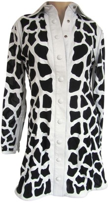 Jitrois White Leather Jackets