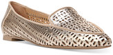 Franco Sarto Soho Perforated Pointed Toe Flats