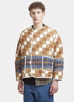 Story Mfg. Patchwork Jacket in Brown