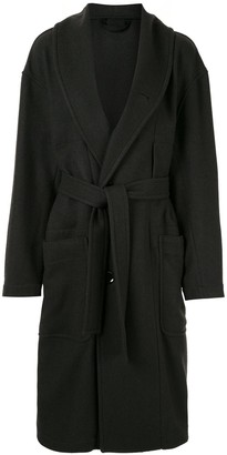 Lemaire Single-Breasted Kaftan Coat