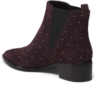 Studded Suede Booties