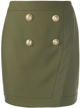 Balmain Military Mini Skirt