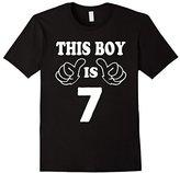 7 Year Old Shirt for Boy Kid - 7th Birthday Gift Idea 2010