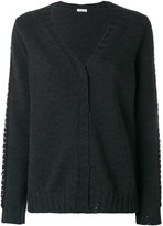 P.A.R.O.S.H. studded trim cardigan - women - Wool - S