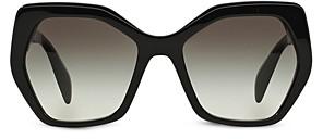 Prada Women's Oversized Geometric Sunglasses, 56mm