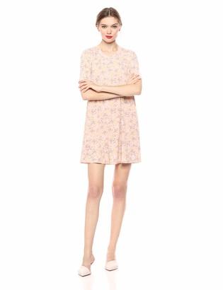 BCBGeneration Women's Allover Floral A-Line Dress