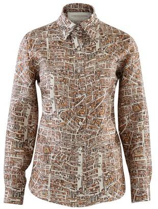 La Prestic Ouiston Joana map of Paris shirt