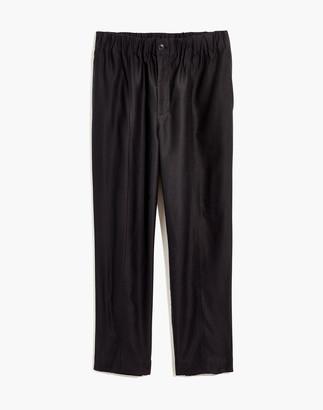 Madewell Plus Tapered Huston Pull-On Crop Pants