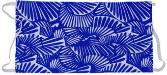 Poppy + Sage Reusable Face Mask - Seashell Summer In Atlantic Blue