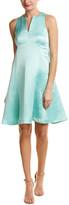 Nanette Lepore Linen-Blend A-Line Dress