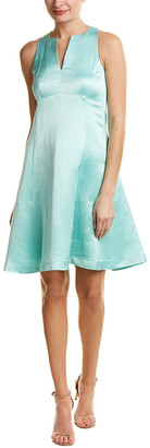 Nanette Lepore Linen-Blend A-Line Dress