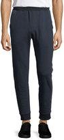 ATM Anthony Thomas Melillo Double-Knit Cotton Jogger Pants