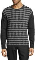 John Varvatos Men's Wool-Cashmere Sweater