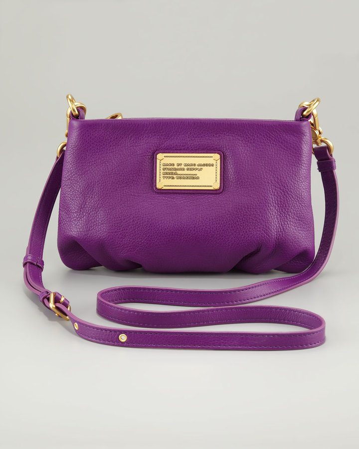 Marc by Marc Jacobs Classic Q Percy Crossbody Bag, Violet