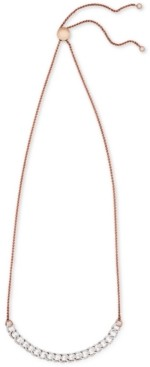 Wrapped in Love Diamond Chain Link Adjustable Bolo Necklace (1/2 ct. t.w.) in 10k Rose Gold, Created for Macy's