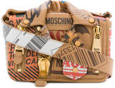 Moschino Biker parcel shoulder bag