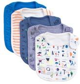 Infant Boy's Rosie Pope 5-Pack Nerd Alert Bib Set