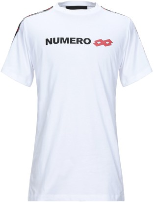 Numero 00 for LOTTO T-shirts