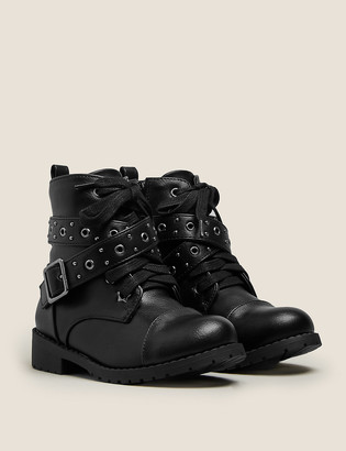 Marks and Spencer Kids' Freshfeet Ankle Boots (5 Small - 12 Small)