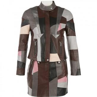 Coach Multicolour Leather Jackets
