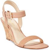 Nine West Kiani Strappy Wedge Sandals