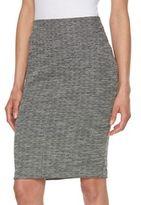 Elle Women's ELLETM Jacquard Pencil Skirt
