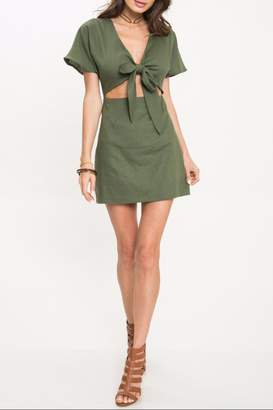 Hunter Latiste Green Dress