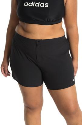 adidas Solid Woven Swim Shorts