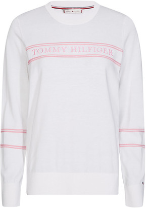 Tommy Hilfiger White Pullover