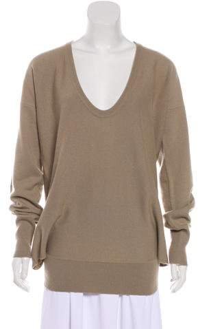 Chloé Cashmere Long Sleeve Sweater