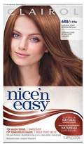 Clairol Nice 'n Easy Permanent Hair Color 6RB/119A Natural Light Reddish Brown