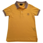 Fendi Yellow Cotton Top