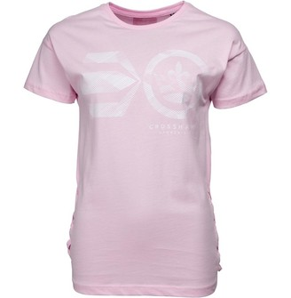 Crosshatch Womens Annabelle T-Shirt Sweet Lilac