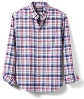 Banana Republic Camden-Fit Plaid Cotton Stretch Oxford Shirt