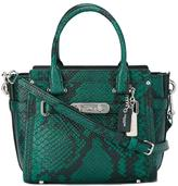 Coach snakeskin effect tote