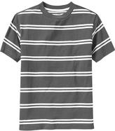 Old Navy Boys Double-Striped Crew Tees