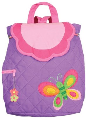 Stephen Joseph Quilted Backpack, Elephant