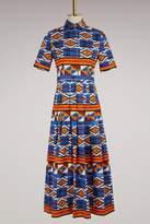Stella Jean Patterned shirt dress