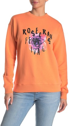 True Religion Oversized Graphic Pullover