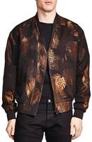 The Kooples Golden Leaves Printed Jacket
