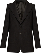Lemaire Notch-lapel single-breasted wool jacket