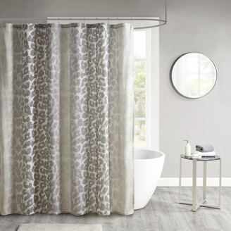 Madison Home USA Sable Cotton Gauze Printed Shower Curtain
